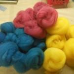 Dyed Romney