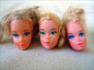 barbie heads